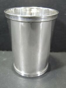 Cartier Sterling Silver Mint Julep Cup No Mono 10125 3 2 Goblet