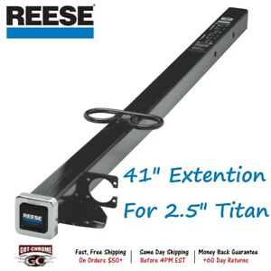 45018 Reese 41 Trailer Hitch Extension For Titan 2 5 Receiver