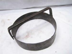 Antique Blacksmith Hand Forged Donut Cutter Primitive Kitchen Baking Tool Cookie