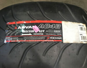 1 New 265 35 18 Yokohama Advan A048 Tire