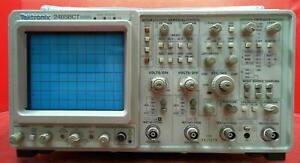 Tektronix 2465bct Oscilloscope 400 Mhz 4 channel With Counter Timer