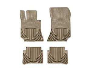 Weathertech All Weather Floor Mats For Mercedes Cls Class Coupe 2011 2014 Tan