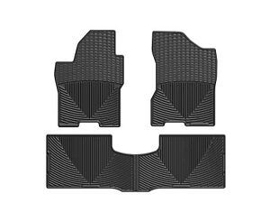 Weathertech All Weather Floor Mats For Nissan Titan Crew 08 15 1st 2nd Row Black