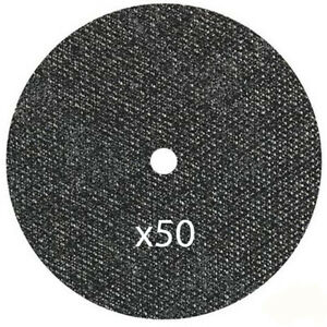 50 Pc Cut Off Wheels 5 X 040 X 7 8 Stainless Steel Metal Cutting Discs