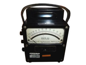 Weston Electrical Instruments Model 433 88603 25 125 Cycles Ac Volt Meter