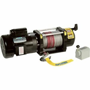 Superwinch 110 240v Ac Utility Winch 3000 lb Cap 1730000