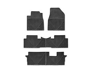 Weathertech All Weather Floor Mats For Honda Pilot 09 15 1st 2nd 3rd Row Black