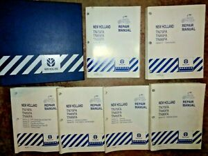 New Holland Tn75fa Tn85fa Tn95fa Tractor Service Repair Shop Manual Nh Original