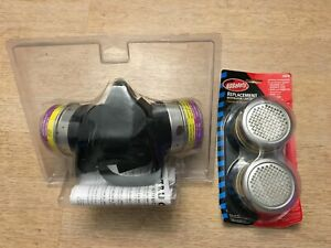 Aearo Ao Safety Respirator Mask And Cartridges Painting Dust Protective 6476