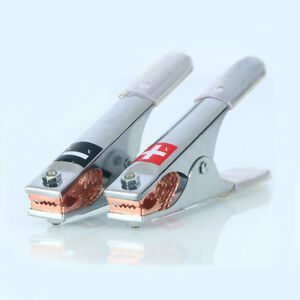 2pcs Pure Copper Large Alligator Clip Battery Clip Car Battery Charging Clip