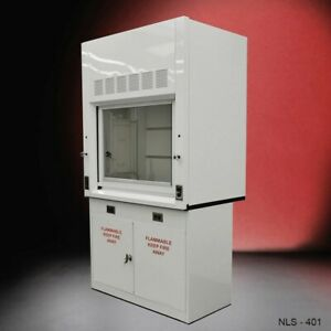 4 Fisher American Laboratory Chemical Fume Hood Flammable Cabinet