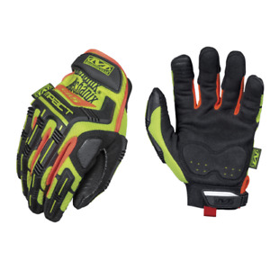 Mechanix Wear Cr5 M pact Cut Resistant Glove High Visibility Yellow
