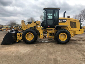 2013 Caterpillar 930k Wheel Loader 4x4 Cab Ac heat Articulated Cat Tire Tractor