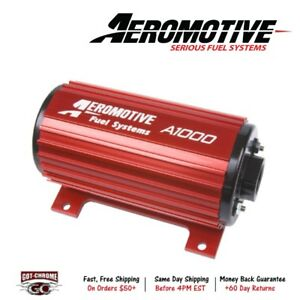 11101 Aeromotive A1000 Fuel Pump E85 Diesel Gasoline 10 Inch In Out
