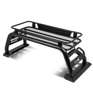 Fit 15 19 Toyota Tacoma Heavy Duty Pickup Truck Bed Roll Bar roof Top Cargo Rack