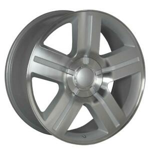 26 Inch 26x10 Replica Texas Edition Silver Wheel Rim 6x5 5 6x139 7 30