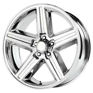26 Inch 26x10 Replica Iroc Chrome Wheel Rim 6x5 5 6x139 7 24