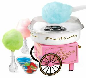 Nostalgia Vintage Hard Sugar free Candy Cotton Candy Maker Easy Cleaning