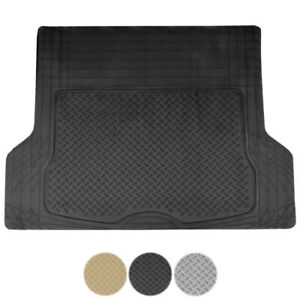 1pc Heavy Duty All Weather Car Rubber Cargo Trunk Floor Mat Liner