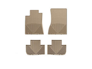 Weathertech All weather Floor Mats For Cadillac Cts 4 door W rwd 08 14 Tan