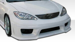 Duraflex Sigma Front Bumper Body Kit For 02 06 Toyota Camry