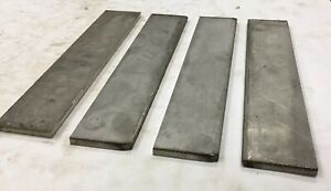 4 Pieces 1 4 Thickness 316 316l Stainless Steel Flat Bar 0 25 X 2 X 9 875
