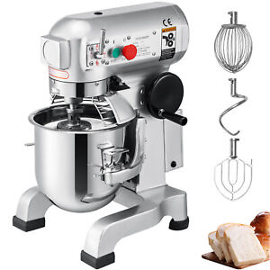 30qt 1 5hp Electric Food Stand Mixer Dough Mixer Cooking Restaurants Commercial