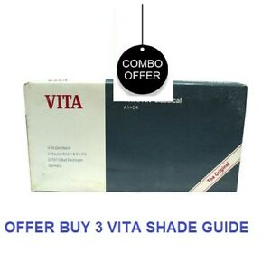 Offer Buy 3 Vita Vitapan Classical Shade Guide a1 d4 16 Natural Tooth Shades