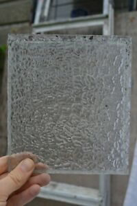 2 Scrap Pieces Oceanic Arctic Glass 18 X 18cm British Stained Glass S449i