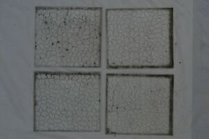3 Scrap Pieces Oceanic Arctic Glass 19 X 17 5cm British Stained Glass S449g