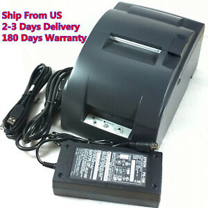Eps Tm u220b M188b Pos Receipt Kitchen Bar Printer W Power Supply usb Cable
