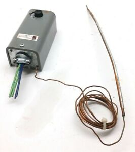 Johnson Controls A19aab 7 Temperature Control Switch Temp Range 100 300 f