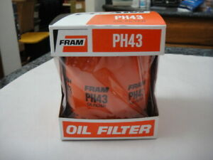 Nos Vintage Fram Oil Filter Ph43 Fits Many Models