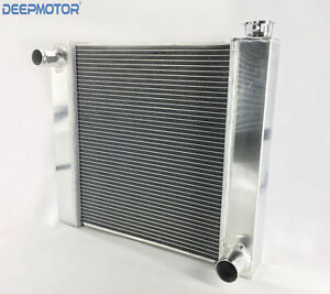 Deepmotor Chevy Aluminum Welded 19 x21 x2 2 universal Racing Radiator