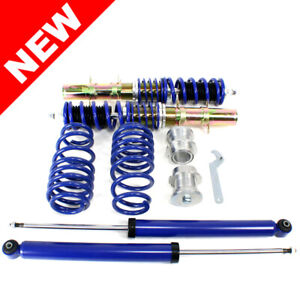 Rsk Street Coilover Kit Vw Mk4 Golf Gti Jetta New Beetle Blue