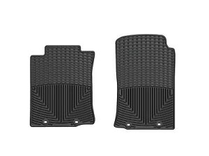 Weathertech All Weather Floor Mats For Toyota Tacoma 2012 2015 1st Row Black