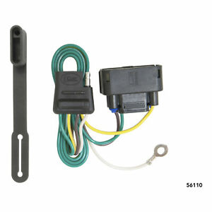 56110 Curt 4 Way Flat Trailer Wiring Connector Harness Fits Ford F 150