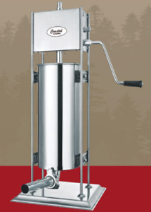 Coastal Products 061314 j 25 Lb Dual Gear Stainless Steel Sausage Stuffer