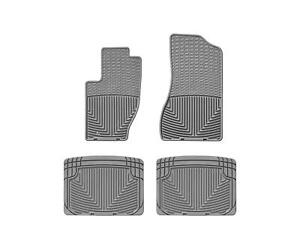 Weathertech All weather Floor Mats For Jeep Grand Cherokee 05 10 1st 2nd Row Gry