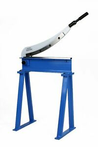 Erie Tools Guillotine Shear 20 X 16 Gauge Sheet Metal Plate Cutter With Stand
