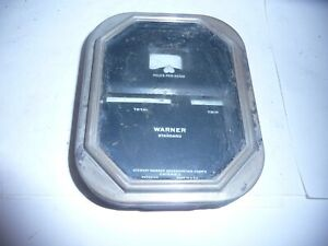 Vintage 1920 S To Early 1930 S Stewart Warner Speedometer Face And Bezel