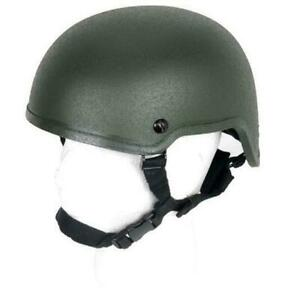 Lancer Tactical Mich 2001 Tactical Helmet CA-332G Od Green New For Airsoft
