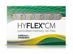 Coltene Whaledent Hyflex Cm Controlled Memory Niti Files Starter Pack 21mm