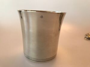 Antique Tetard Freres France Sterling Silver Beaker Cup French Mint Julep