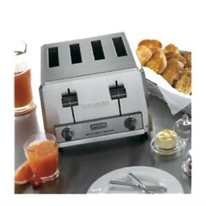 Waring Wct800rc Commercial Toaster Heavy duty 4 1 1 8 Slots