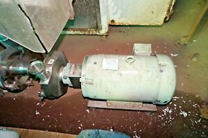 Fristam Stainless Steel Pump Model Fpx732 165