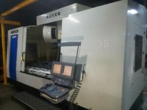 84 X 34 Y Hurco Vmx84 50t Vertical Machining Center Hurco Ultimax Contro Cat
