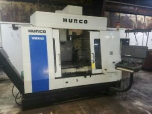 42 X 24 Y Hurco Vmx 42 Vertical Machining Center Hurco Ultimax Control Cat40