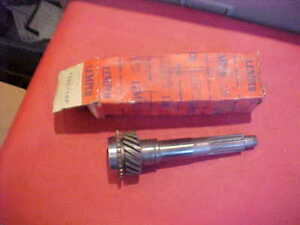 Nos 3 Speed Transmission Main Gear T86e 16p Ford 55 56 57 223 6 Cyl Overdrive