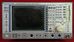Rohde And Schwarz Fseb30 b15 100060 Spectrum Analyzer 9 Khz To 7 Ghz